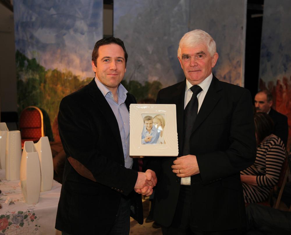 Presentation of Trophy