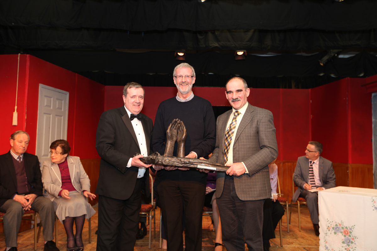 Blue Riband (Teresa Relihan Perpetual Memorial Trophy) Letterkenny Music & Drama Society 'The 39 Steps'